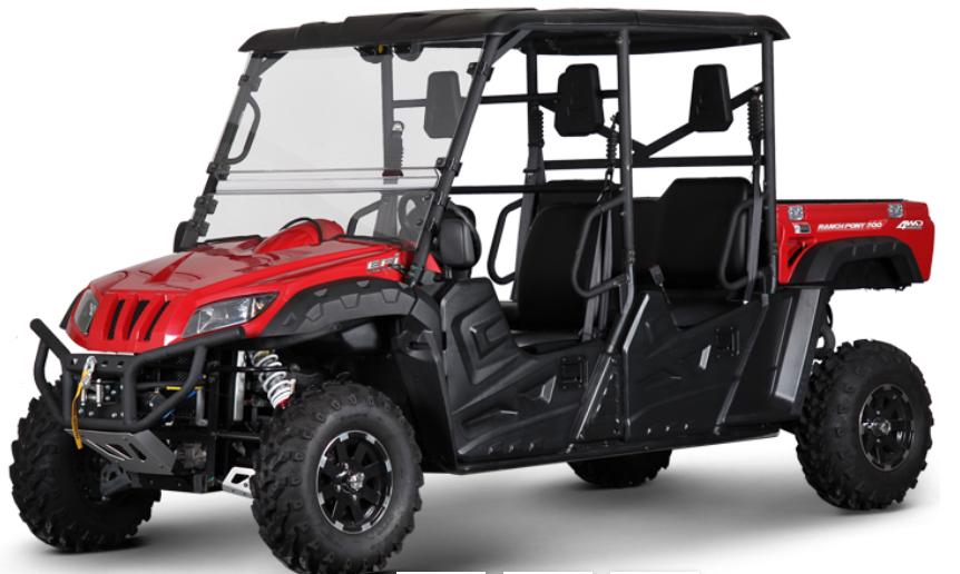 BMS Ranch Pony 700 4S - 4 Seat UTV